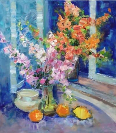 Картина «Весенние цветы»
