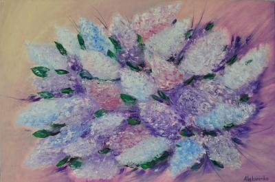 Картина «Весна. Сирень»