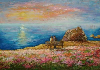 Картина «Весна в Opal Cliffs»