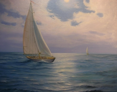 Картина «Ветер в парусах»