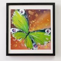 Картина бабочки «Взмах крыла» купить живопись для современных интерьеров Киев