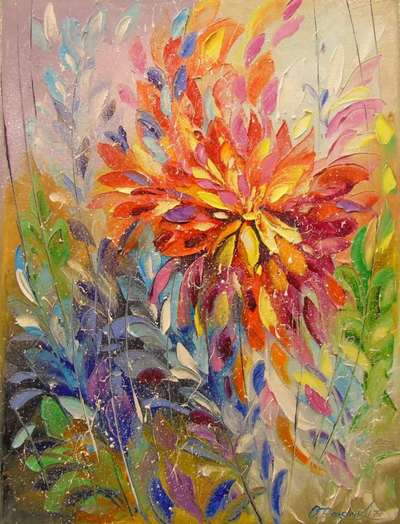 Картина «Взрыв эмоций»