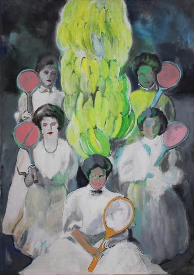 Картина для современных интерьеров «Keeping Shadows» купить живопись Киев