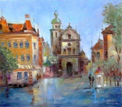 Картина «Елегії стародавнього Львова»