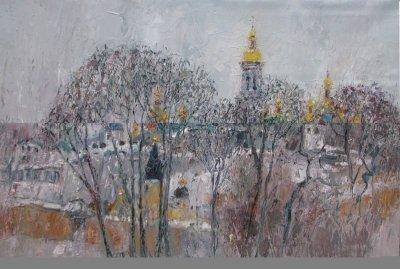 Картина пейзаж Киева «Киево-Печерская Лавра»