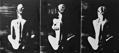 Картина «Женственность» триптих