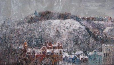 Картина «Зимний Киев»