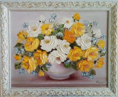 Картина цветы «Розы»