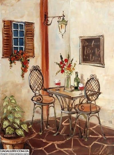 Картина «Кафе»