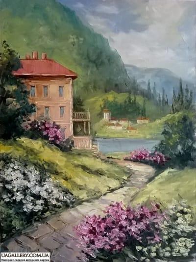Картина «Летний пейзаж»