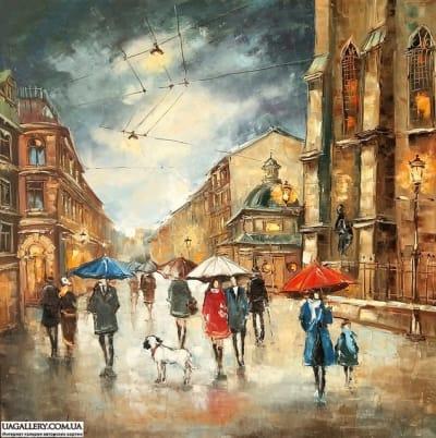 Картина «Прекрасная музыка дождя»