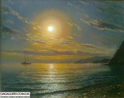 Картина «Море.Закат»