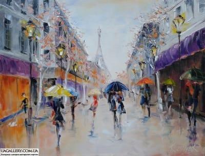 Картина «Париж, Париж! Ты снова манишь»