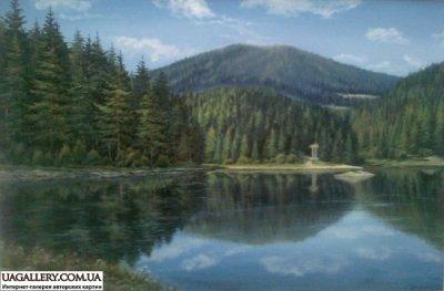 Картина «Величественное озеро Синевир»