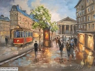 Картина «Прекрасный Париж!»