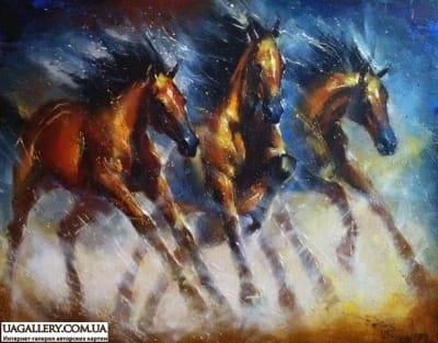 Картина «Быстрее ветра»