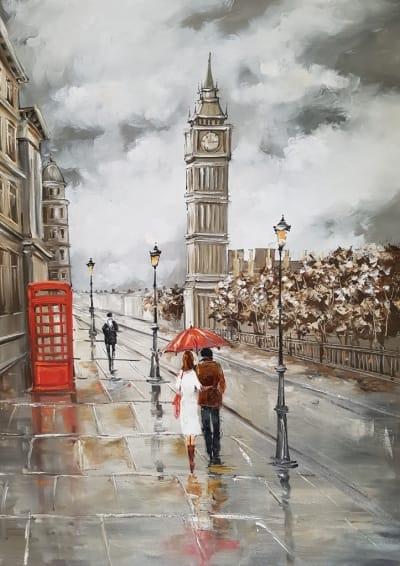 Картина «Лондон для двоих»