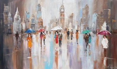 Картина «Теплая осень в Лондоне»