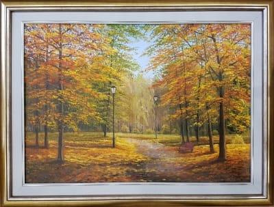 Картина «Теплые краски осени» 3
