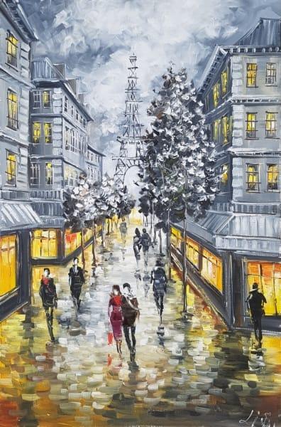 Картина «О... этот сказочный Париж»