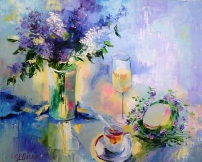 Картина «Весенний натюрморт»