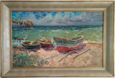 Картина «Азовские лодки»