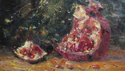 Картина «Натюрморт с гранатом»