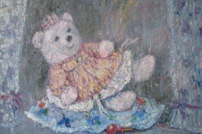 Картина «Принцесса на конфетке»