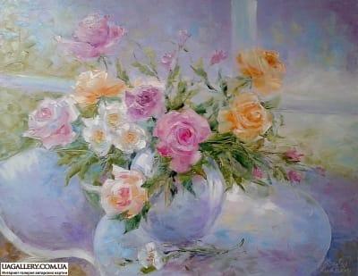 Картина «И прбуждаются цветы...»