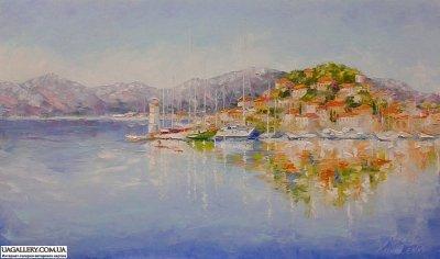 Картина «Средиземноморский пейзаж»