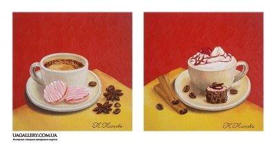Картина «Чашки. Диптих»