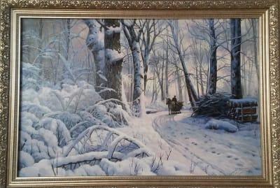 Картина «Зимний пейзаж»