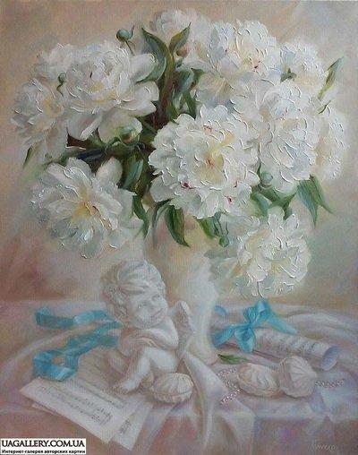 Картина «Мелодия цветочного ангела»