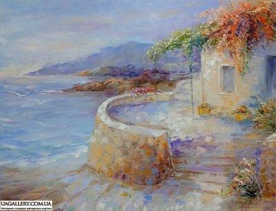 Картина «Шум воды и легкий бриз»