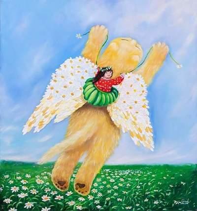 Картина «Ромашковые крылья»