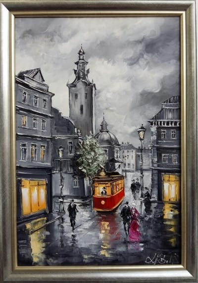Картина «Улицами Львова»