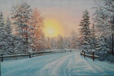 Картина «Зимний сон»