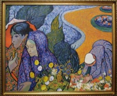 Картина «Женщины Арля», копия картины Ван Гога