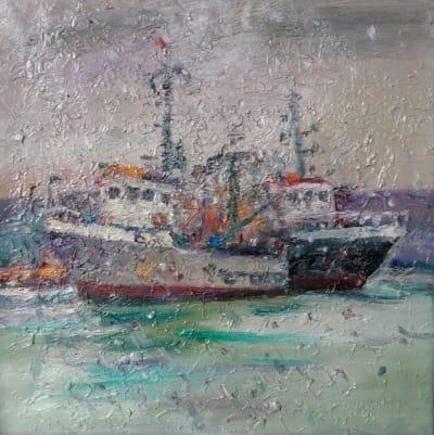 Картина «Морской пейзаж. Болгария»