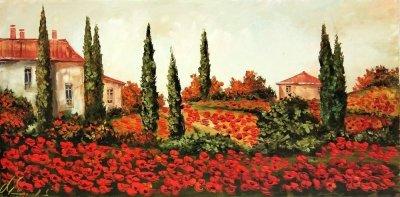 Картина «Яркие краски Прованса»