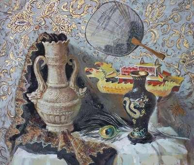 Картина «Восточный натюрморт»