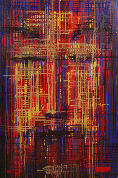 Абстрактная картина «Дон Хуан»