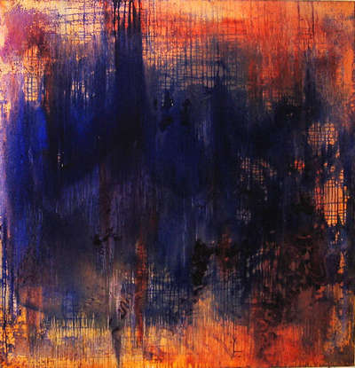 Абстрактная картина «Синий»