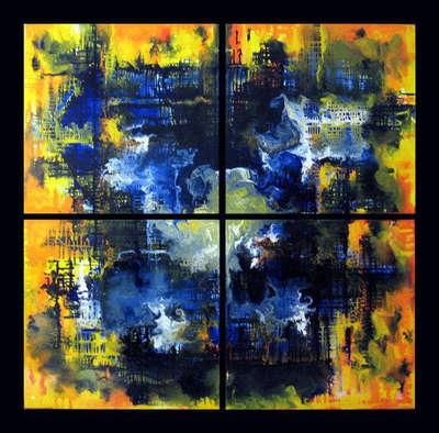 Абстрактная картина «Аберрации 2»