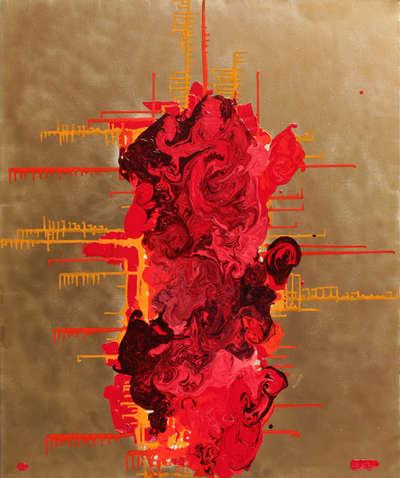 Картина «RGB - красный»