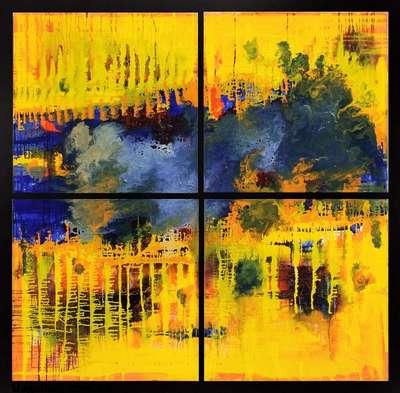 Абстрактная картина «Аберрации»