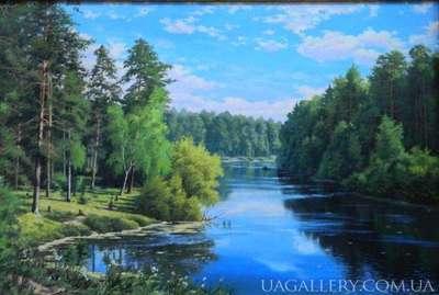 Картина Летний пейзаж