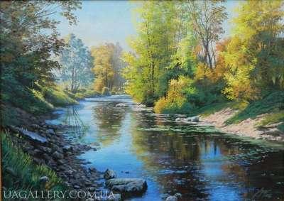 Картина Осенний пейзаж