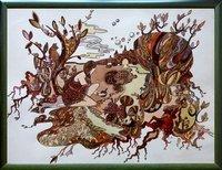 Картина «Алиса в стране чудес»