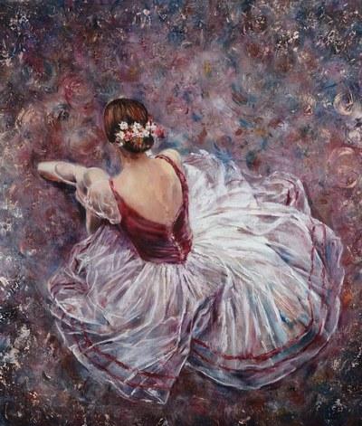 Картина «Балет» купить живопись Украина